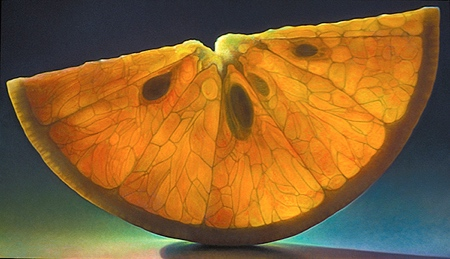 Translucent Fruit Paintings