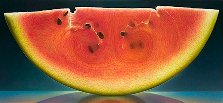 Transparent Fruit Paintings