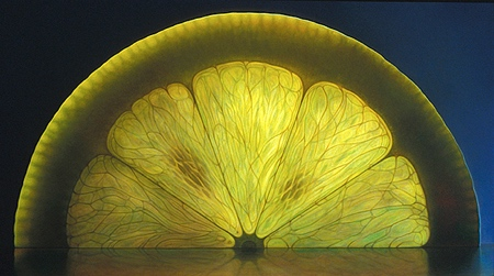 Translucent Fruit Painting