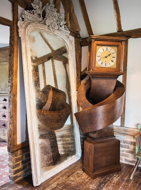 Alex Chinneck Knot Clock