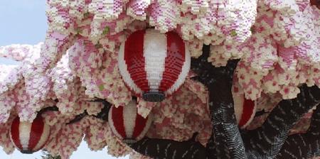 LEGO Cherry Blossom Tree