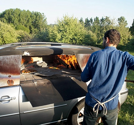 Ford Pizza Oven