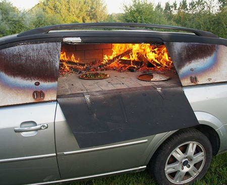 Car Pizza Oven