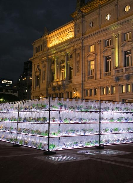 Plastic Bottles Labyrinth