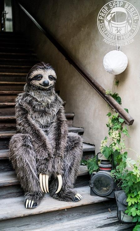 Full Body Sloth Costume