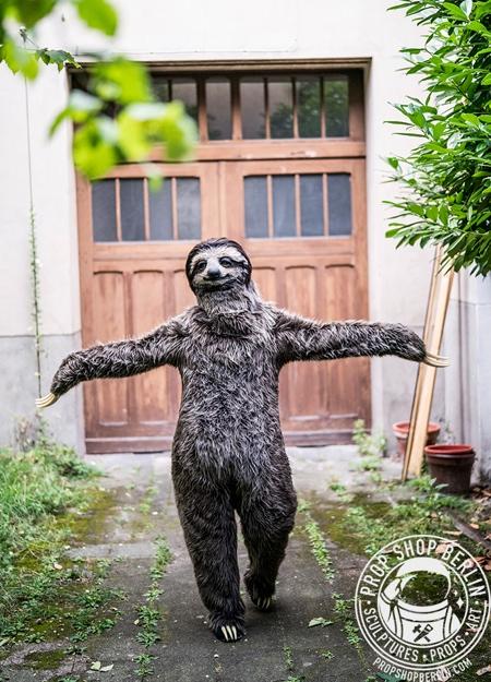 Karoline Hinz Sloth Costume