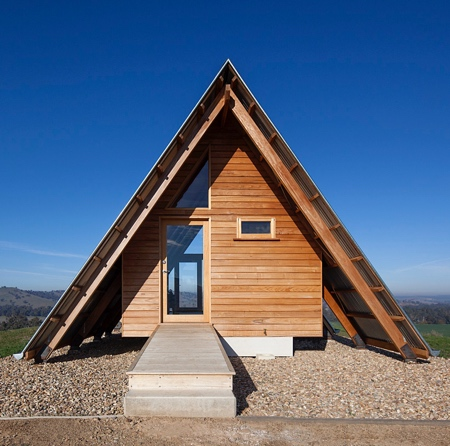 Tent Shaped House