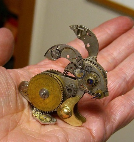 Steampunk Watch Sculptures