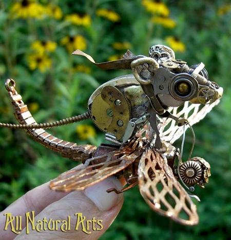 Sue Beatrice Watch Parts Sculptures