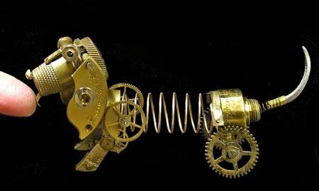Watch Parts Sculpture
