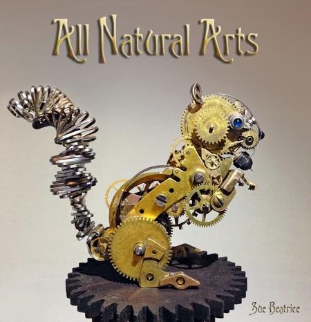 Sue Beatrice Steampunk Watch Sculptures