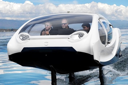 Camping Beds For Tents >> SeaBubbles Water Taxi