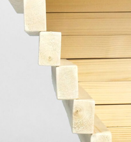 Wooden Wave Shelf