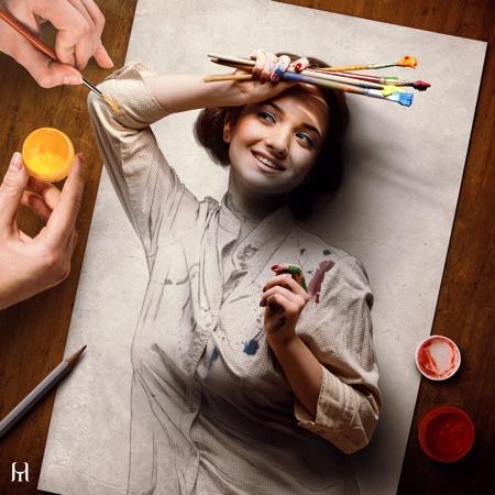 Tullius Heuer 3D Portraits