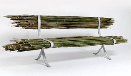 Gal Ben-Arav Bamboo Bench