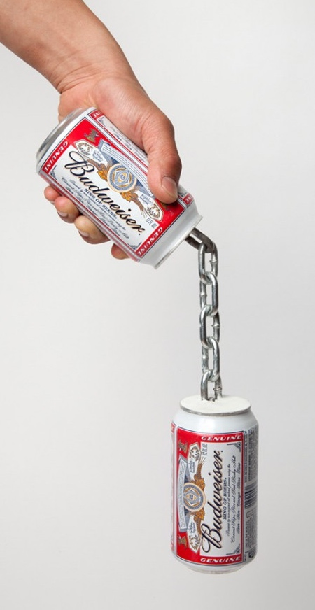 Beer Can Nunchucks