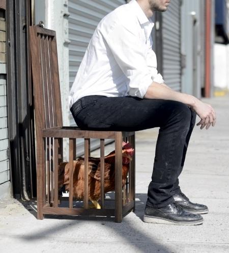 Chicken Coop Chair
