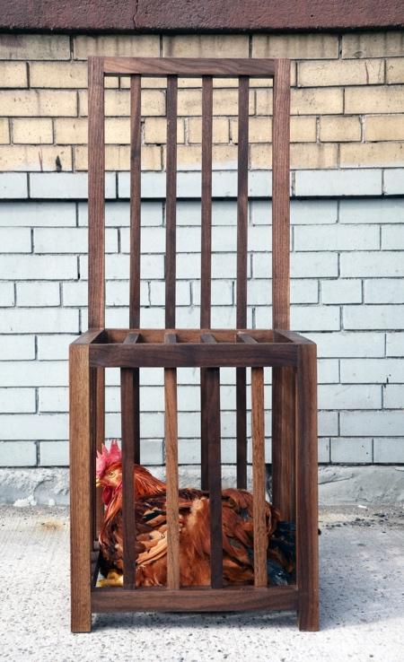 Chicken Cage Chair