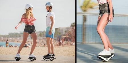 Self-Balancing Skates