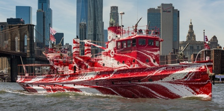 Red Fireboat