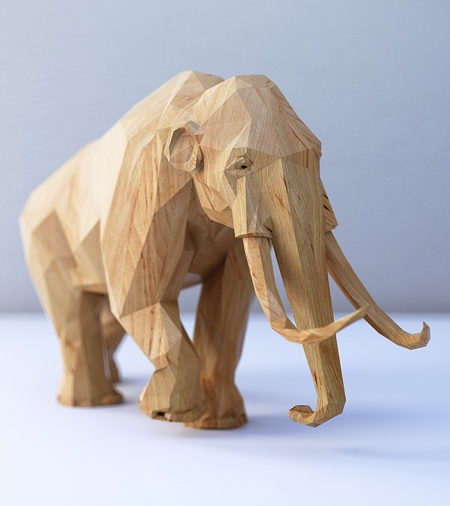 Digital Wooden Animals