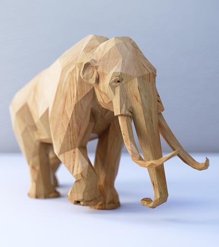 Digital Wooden Animals
