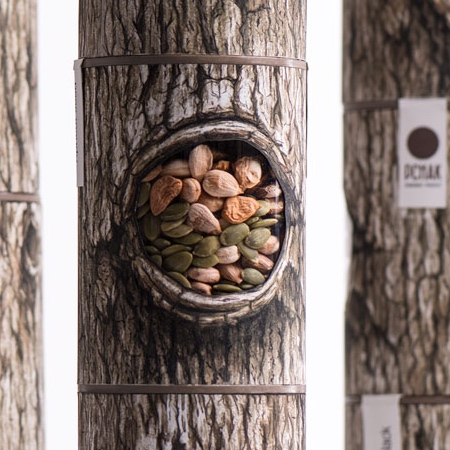 Tree Hollow Nuts Packaging