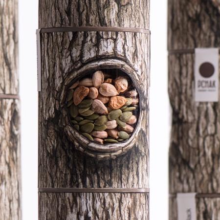 Tree Hollow Nuts Packaging