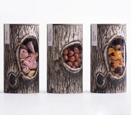 Creative Nut Packaging