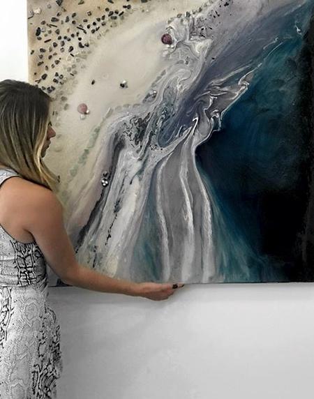 Antuanelle Ocean Painting