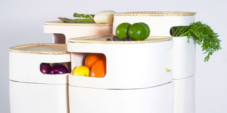 Fruits and Vegetables Fridge