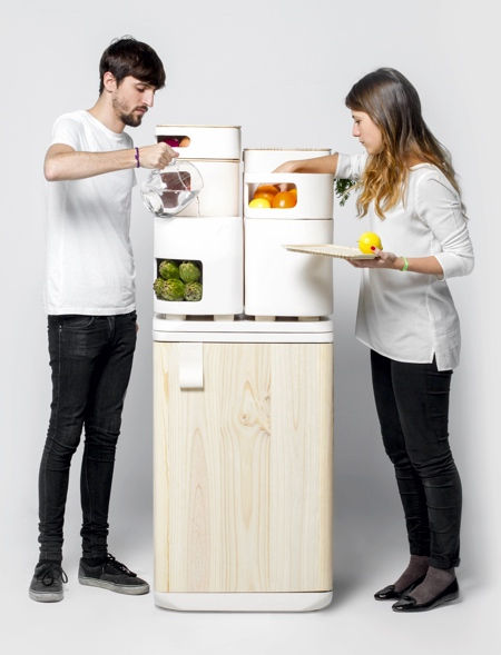 Fruits and Vegetables Refrigerator