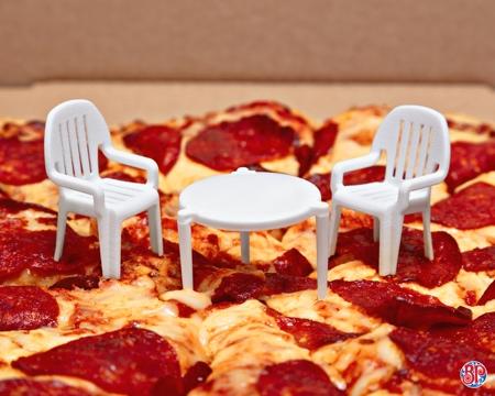 Pizza Patio Set