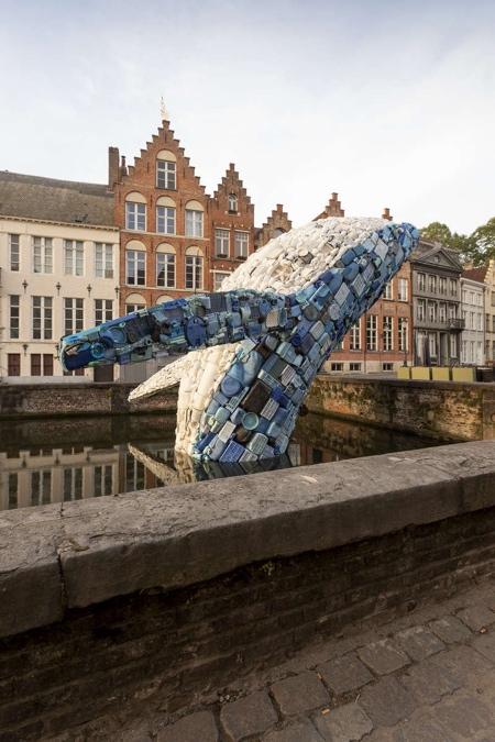 Giant Plastic Whale