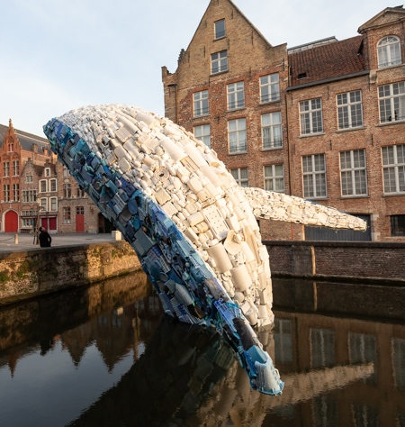 Plastic Whale In Bruges