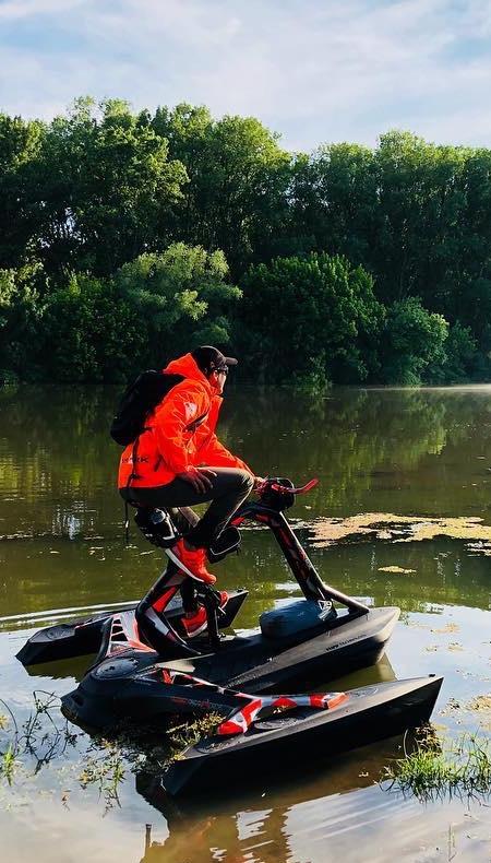 Pedal Powered Trimaran