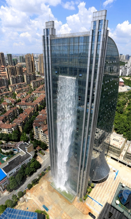 Building Waterfall