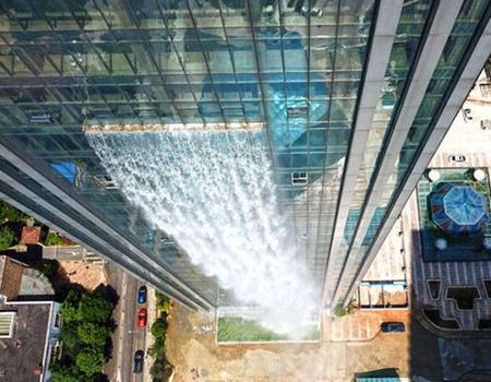 Skyscraper Waterfall