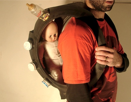 Elad Hoffman Tire Baby Carrier