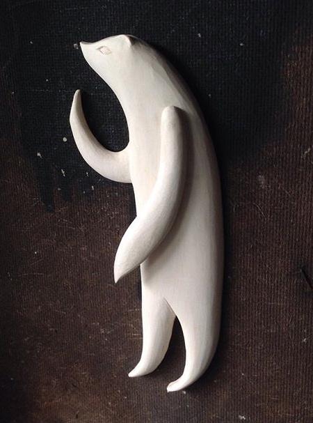 Tach Pollard Wood Carving