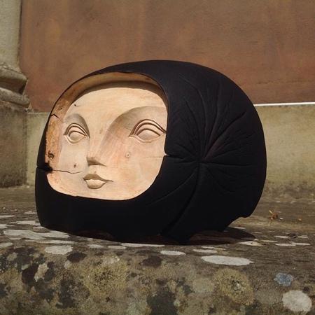 Wooden Sculptures by Tach Pollard