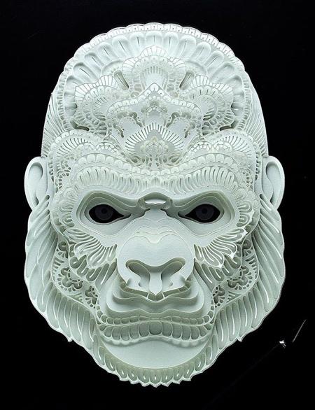 Endangered Paper Animals