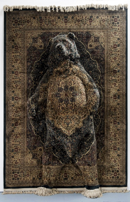 Debbie Lawson Rug Sculptures