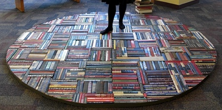 Rug Made of Books