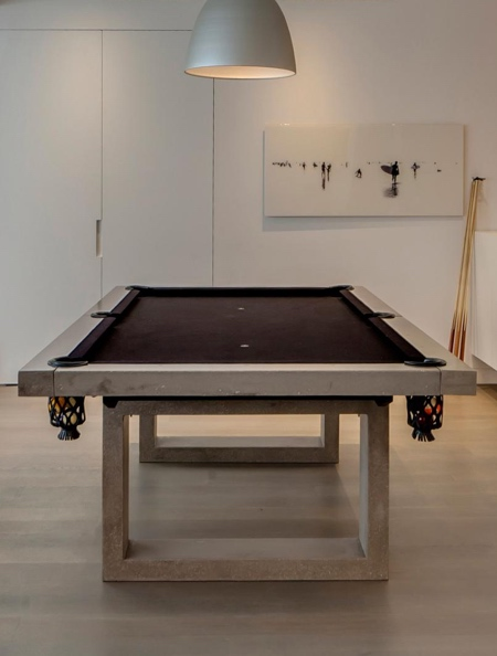 Concrete Billiards Table