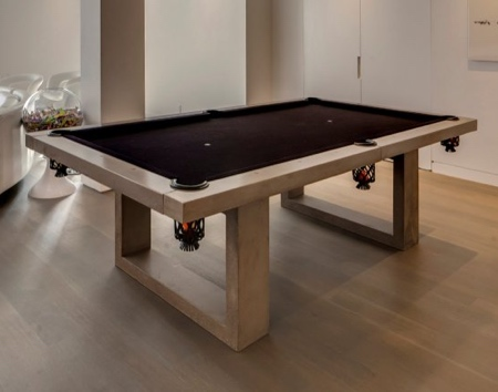James de Wulf Concrete Pool Table