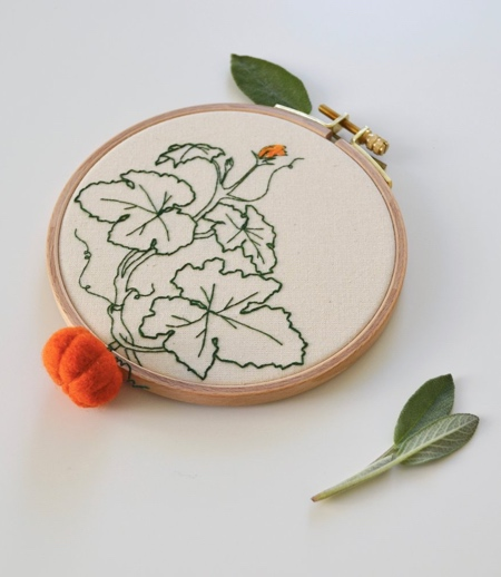 Embroidery Vegetables