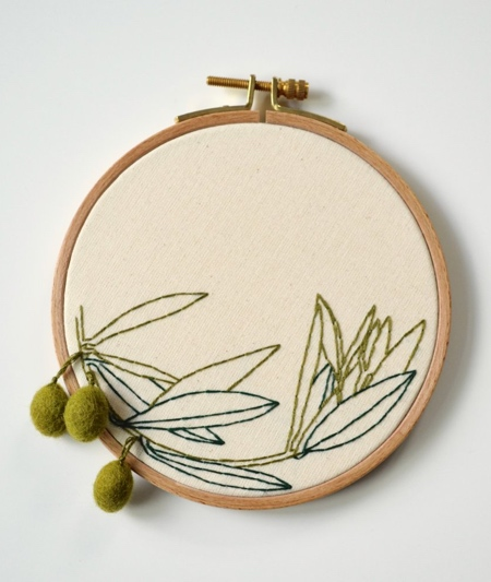 Embroidered Food