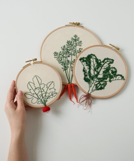 Embroidered 3D Food