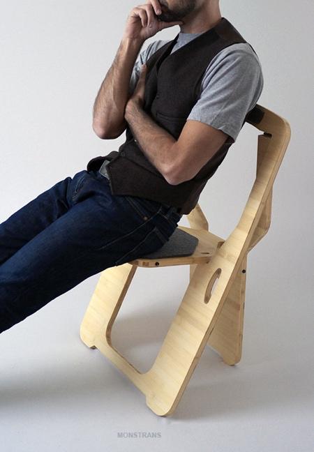 Leo Salom Folding Chair